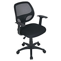 Yale Black Office Chair