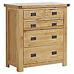 Amberley 2+3 Drawer Chest of Drawers