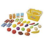Pretend & Play Shopping Basket with Food