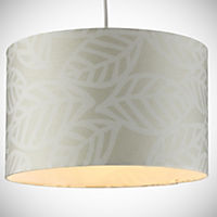 Tu Natural Leaf Print Shade
