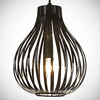 Tu Martha Black Cage Ceiling Light