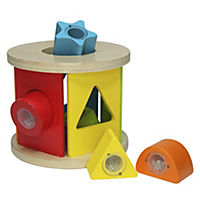 Grow & Play Shake and Play Wooden Shape Sorter