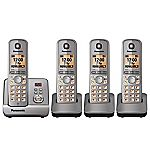 Panasonic KX-TG 6724 Quad Cordless Phone