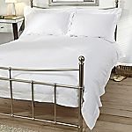 Home Collection Egyptian Cotton Plain White Bed Linen