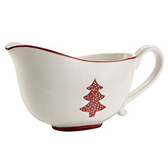 Tu Christmas Country Kitchen Gravy Boat