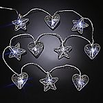 Tu Metal Heart and Star 10-string Light