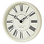 Tu Cream Metal Wall Clock