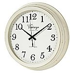 Tu Large Cream Clock