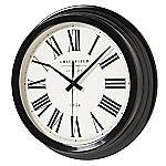 Tu Large Black Clock