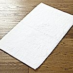 Home Collection White Bath Mat
