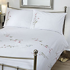 Tu Embellished Sprig Bed Linen Set