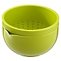 Sainsbury's Colour Lime Mixing Bowl/Colander Set