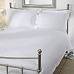 Home Collection Sateen Stripe Bed Linen Set