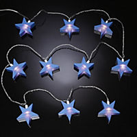 Tu Blue Star Light String