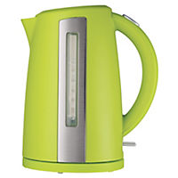 Sainsbury's Colour 1.7L Lime Jug Kettle