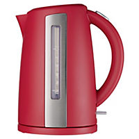 Sainsbury's Colour 1.7L Cherry Jug Kettle