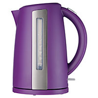Sainsbury's Colour 1.7L Plum Jug Kettle