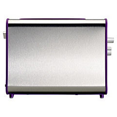 Sainsbury's Colour Plum 2-slice Toaster