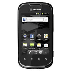 Vodafone Smart II Black Mobile Phone