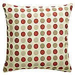 Tu Red Circles Cushion