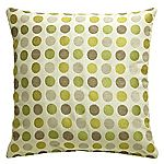 Tu Green Circles Cushion