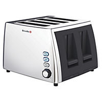 Breville VTT273 Polished Stainless Steel 4-slice Toaster