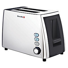 Breville VTT272 Polished Stainless Steel 2-slice Toaster