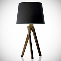 Tu Smedley Wooden Tripod with Grey Shade