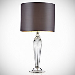 Tu Sebastian Clear Glass Table Lamp