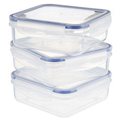 Sainsbury's Klip Lock Containers 700ml 3-pack