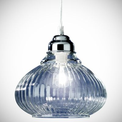Tu Matilda Clear Glass Ceiling Light - image 1