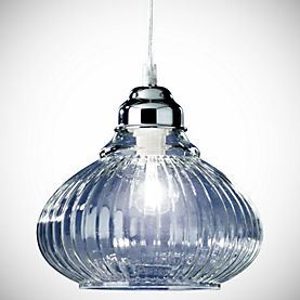 Tu Matilda Clear Glass Ceiling Light