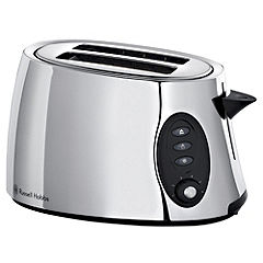 Russell Hobbs 18029 Stylis Polished Steel 2-slice Toaster