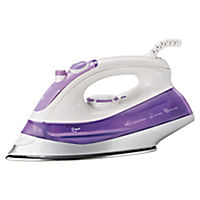 Sainsbury's 2000W White & Purple Steam Iron