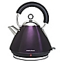 Morphy Richards Plum Pyramid Accents Kettle
