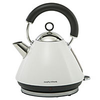 Morphy Richards White Pyramid Accents Kettle