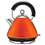 Morphy Richards Orange Pyramid Accents Kettle