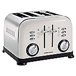 Morphy Richards White Accents 4-slice Toaster