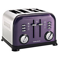 Morphy Richards Plum Accents 4-slice Toaster