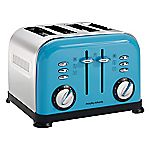 Morphy Richards Cyan Accents 4-slice Toaster