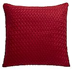 Tu Red Knitted Cushion