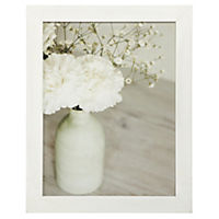 Distressed Frame Flowers in Bottle Canvas Wall Art 50x40cm