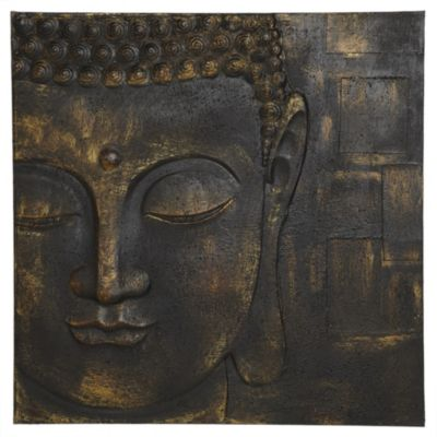 Buddha Canvas Wall Art 60x60cm - image 1