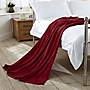 Tu Red Knitted Throw