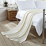 Tu Cream Knitted Throw