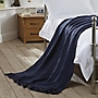 Tu Navy Chunky Knitted Throw