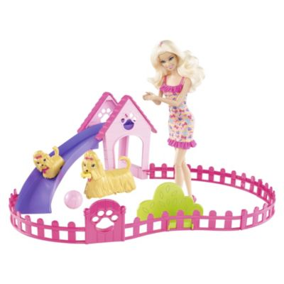 Barbie Puppy Play Park - image 1