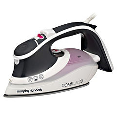 Morphy Richards 40870 Charcoal and Pink Comfigrip Diamond Iron