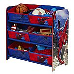 Spider-Man Six Bin Storage Unit