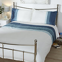 Tu Duck Egg Panelled Bed Linen Set